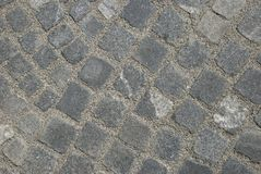 Granite pavement Stock Photos