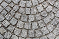 Granite pavement Royalty Free Stock Photo