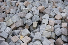 Granite pavers Stock Photos