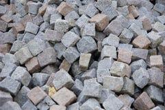 Granite pavers Stock Photos