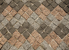 Granite paving Royalty Free Stock Photos