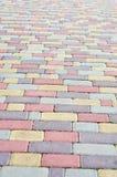 Granite paving Stock Images