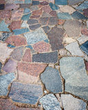 Granite paving Royalty Free Stock Photography