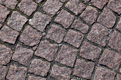 The granite paving Royalty Free Stock Photography