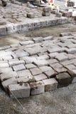 Granite paving Royalty Free Stock Images