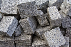 Granite Paving Stones Stock Image