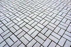 Granite paving stones Stock Photos