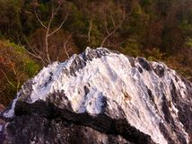 Granite peaks. White Granite peaks during the autumn to spring season stock photography