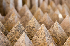 Granite pyramids Stock Images