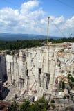 Granite Quarry. Active granite quarry in Barre Vermont stock photography