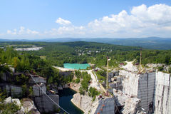 Granite Quarry Royalty Free Stock Images