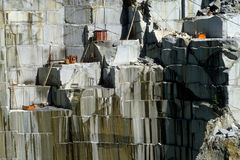 Granite Quarry Royalty Free Stock Photography