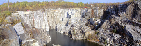 Granite Quarry. In  Barre, Vermont Stock Images
