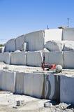 Granite quarry Stock Images