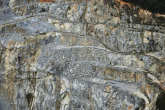 Granite quarry Stock Images