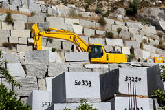 Granite quarry Stock Photo