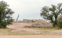 Granite Quarry in Central Texas Stock Photography