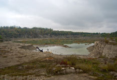 Granite quarry Royalty Free Stock Photography