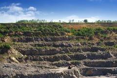Granite quarry Stock Image