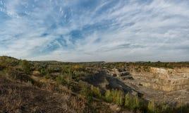 Granite quarry in Ukraine. Stock Images