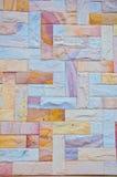 Granite rock. Wall texture background stock photo