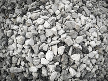Granite rock background.Pile of granite stone.  Royalty Free Stock Photos