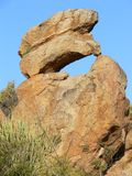 Granite rock formation Stock Photos