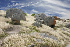 Granite rock formation Royalty Free Stock Photo