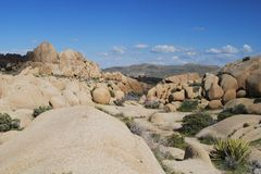 Granite rock formations Royalty Free Stock Images