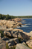 Granite rock ledges and boulders Royalty Free Stock Photography