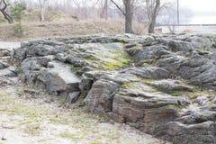 Free Granite Rock On The Banks Of Kremenchuk Reservoir Royalty Free Stock Photos - 212867168