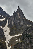 Granite, rock spire in the Tatra Mountains Royalty Free Stock Photos