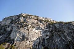 Granite rock of Stawamus Chief Stock Photos