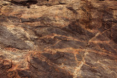 Granite rock texture. Close up natural background photo Stock Photography