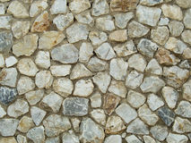 Granite rock wall pattern Stock Photography