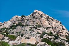 Granite rocks. On the island La Maddalena in Sardinia Stock Photos