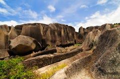 Granite rocks Stock Image