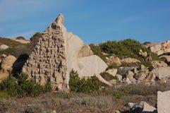 Granite rocks of Sardinia Royalty Free Stock Images