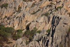 Granite rocks. Sardinian granite and earth reign of the wild Stock Photo