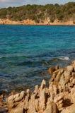 Granite rocks and sea royalty free stock photo