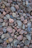 Granite rubble Royalty Free Stock Photography
