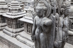Granite Sculptures at Swayambunath, Nepal Stock Images