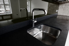Granite and Sink Royalty Free Stock Image