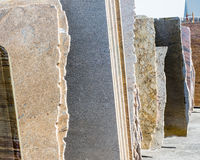 Granite slabs Royalty Free Stock Photography