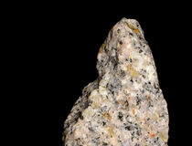 Granite-sodium. Closeup of granite-sodium, volcanic stone Royalty Free Stock Photo