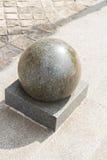 Granite sphere Royalty Free Stock Photo