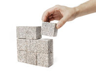 Granite Square Stock Photos