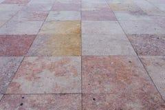 Granite square Stock Photo