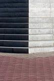Granite staircase Royalty Free Stock Image