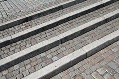 Granite stairs Royalty Free Stock Photo